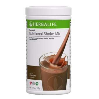 Herbalife Formula 1 Nutritional Shake Dutch Choco Canister