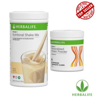 Herbalife Healthy Diet Shake Combo (French Vanilla & Protein Powder)