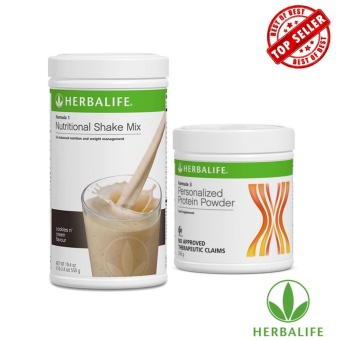 Herbalife Healthy Slimming Shake Combo (Cookies and Cream & Protein Powder)
