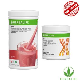 Herbalife Healthy Slimming Shake Combo (Wild Berry & Protein Powder)