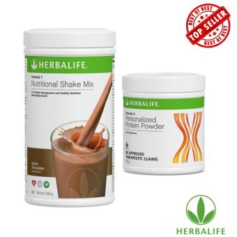 Herbalife Weight Management Shake Combo (Dutch Chocolate & Protein Powder)
