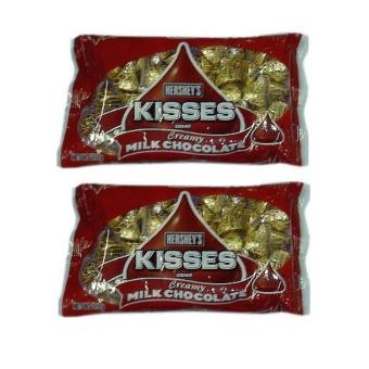 Hershey's Kisses Creamy Milk Chocolate with Almonds 235g - Set of 2