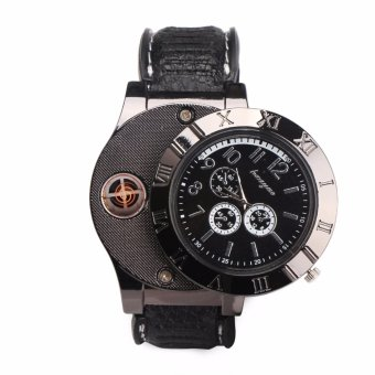 HuaYue Classy Watch Electronic Lighter (Black)