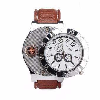 HuaYue Classy Watch Electronic Lighter (Silver)