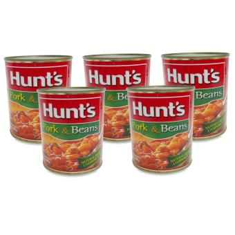 Hunts Pork & Beans 390g 5's 100025 Price Philippines