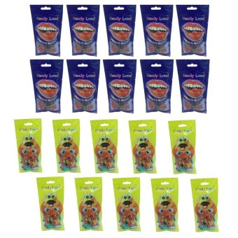 Candy Land Gummy Raspberry 50g Set of 10 and Candy Land Sunflower Seed 50g Set of 10 with Free 10 Piece Candy Land Gummy Raspberry 50g Price Philippines