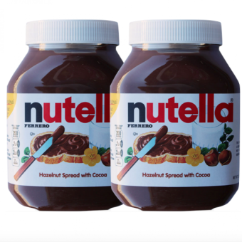 Harga Nutella Hazelnut Spread with Cocoa 950g set of 2