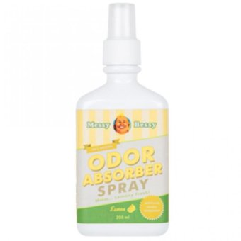 Harga Messy Bessy Odor Absorber Spray - Lemon Scent 200 ml