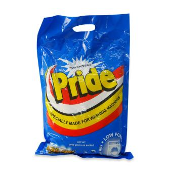 Pride power wash powder 2000g 310074 1'S W32 Price Philippines