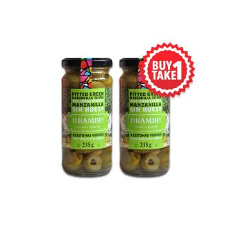 La Rambla Green Pitted Olives 235g BUY ONE TAKE ONE Price Philippines