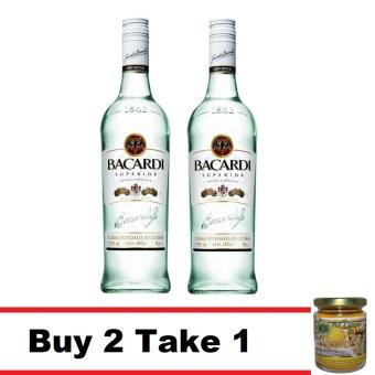 Bacardi Superior White Rum 750Ml Buy 2 Take 1 All Natural 16 In 1 Turmeric Tea 200G Price Philippines