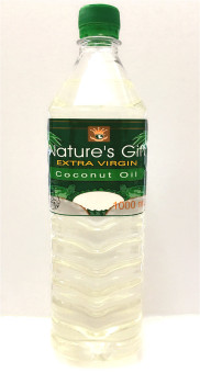 Harga Nature's Gift Extra Virgin Coconut Oil 1000ml