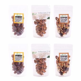 Harga Greenola Pitted Dates + Nutty and Nice + Great Wall-nut Set of 6