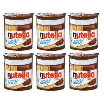 Harga FERRERO Nutella & Go! Hazelnut Spread + Breadsticks, 1.8 ounce SET OF 6
