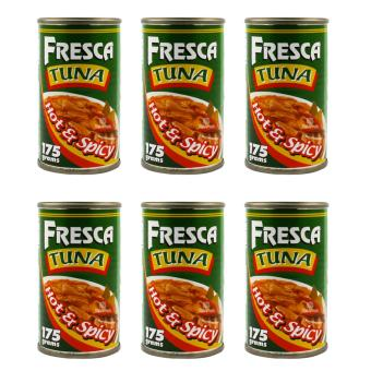 Fresca Tuna Hot and Spicy 175g - Set of 6 Price Philippines