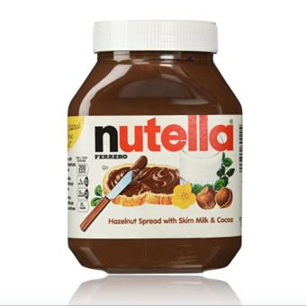 Harga Nutella Hazelnut Spread with Cocoa (900 gram)