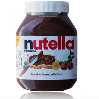 Harga Nutella Hazelnut Spread with Cocoa (950 gram)