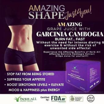 IAM WORLDWIDE Amazing Grape Juice with Garcinia Cambogia (10 sachets) Price Philippines