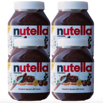 Harga Nutella Hazelnut Spread with Cocoa (900 gram) Set of 4