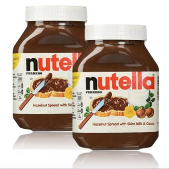 Harga Nutella Hazelnut Spread with Cocoa (900 gram) Set of 2