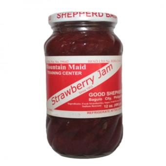 Good Shepherd Strawberry Jam 12oz (Clear/Red) Price Philippines