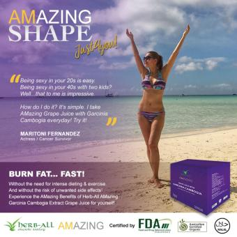 Amazing Grape Juice with Garcinia Cambogia (10 sachets) Price Philippines