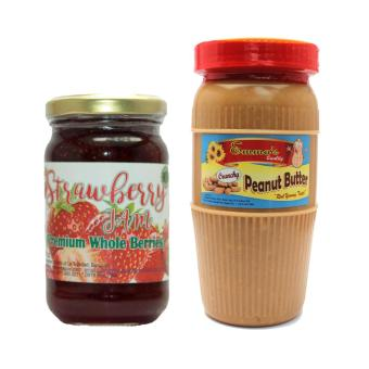 Premium Strawberry Jam 8oz Bundled with Crunchy Peanut Butter Tall Price Philippines