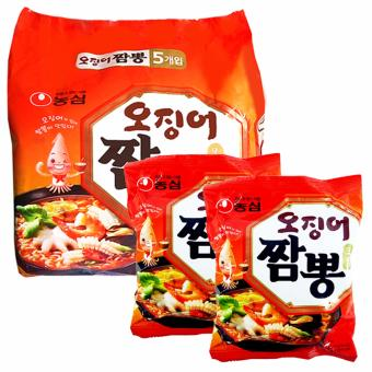 Harga Nongshim Squid Champpong Ramyun (124g/ea.) Set of 7pack