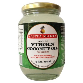 Harga Santa Maria Raw Virgin Coconut Oil 500ml