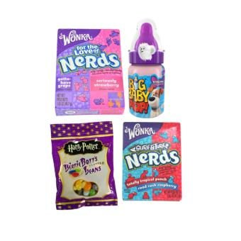 Jelly Belly Bertie Botts Jelly Beans 54g + 2 Wonka Nerds + Big Baby Pop Candy Price Philippines