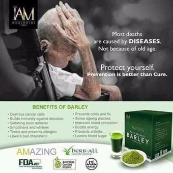 IAM WORLDWIDE Amazing Organic Pure Barley (Powdered Drink) Price Philippines