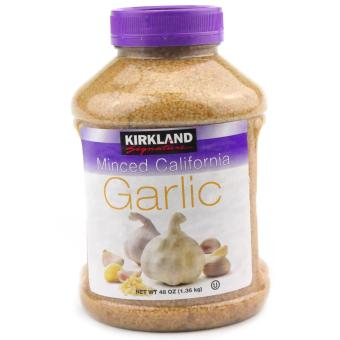KIRKLAND Signature Minced California Garlic 1.36kg Price Philippines