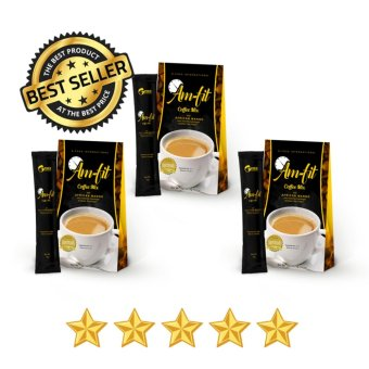 Am-Fit Coffee Mix w/ Garcinia Cambogia and African Mango (Boxes of 3) Price Philippines