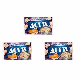 ACT II Sweet & Salty Popcorn 85 grams (SET OF 3) Price Philippines