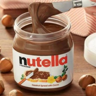 Harga Nutella Hazelnut Spread with Cocoa 950grams