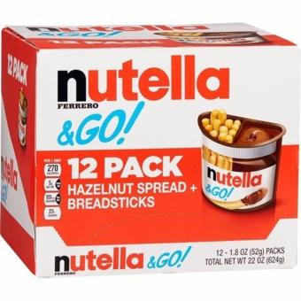 Harga NUTELLA Hazelnut & Bread Sticks 1.8 ounce Pack Of 12