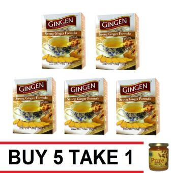 Gingen Strong Ginger Tea 2/10 Count Buy 5 Take 1 Natural Pure Raw Honey Price Philippines