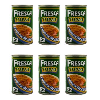 Fresca Tuna Flakes in Oil 175g - Set of 6 Price Philippines