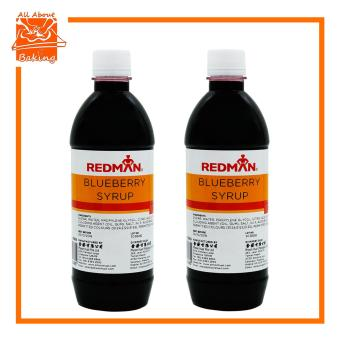 Harga All About Baking Redman Blueberry Syrup 510ml Set of 2