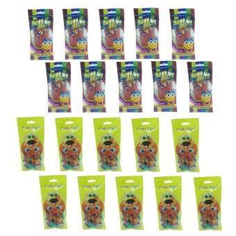 Candy Land Gummy Sour Strawberry Belt 50g Set of 10 and Candy Land Sunflower Seed 50g Set of 10 with Free 15 Piece Candy Land Gummy Raspberry 50g Price Philippines
