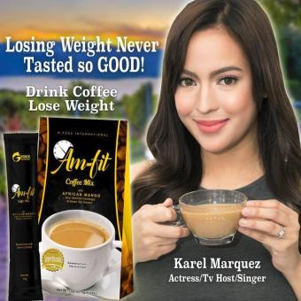 Lose Weight without Exercise Am-Fit Coffee Mix w/ Garcinia Cambogia and African Mango Price Philippines