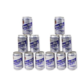 San Miguel Light Can 330 ML 12'S,745046 Price Philippines