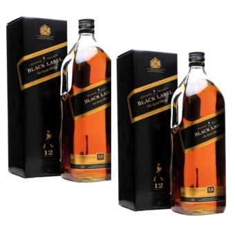 Johnnie Walker Black Label 12 Year Old Magnum 3 Litres, Set of 2 Price Philippines