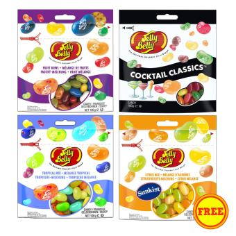Jelly Belly Jelly Beans Bundle B (3 +1 FREE) Price Philippines