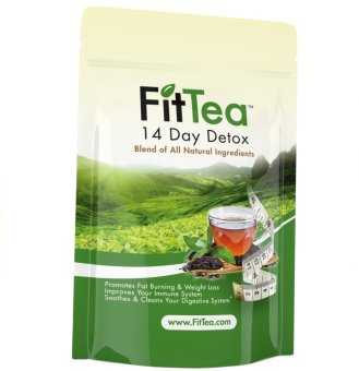 Harga Fit Tea 14 Day Detox - Made in the USA