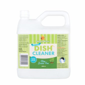 Harga Messy Bessy Natural Dish Cleaner Aloe & Green Tea 2L