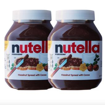 Harga Nutella Hazelnut Spread with Cocoa 900g Set of 2