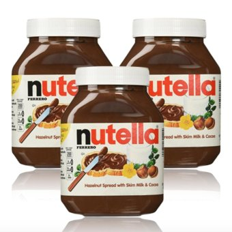 Harga Nutella Hazelnut Spread 900g Set of 3