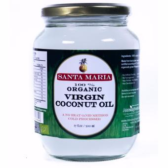 Harga Santa Maria Raw Organic Virgin Coconut Oil 500ml