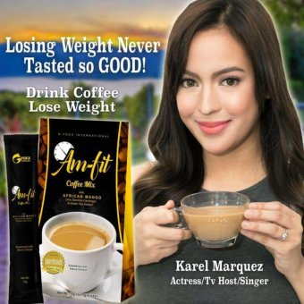 Weight Loss Am-Fit Coffee Mix w/ Garcinia Cambogia and African Mango ( 5 sachet) Price Philippines